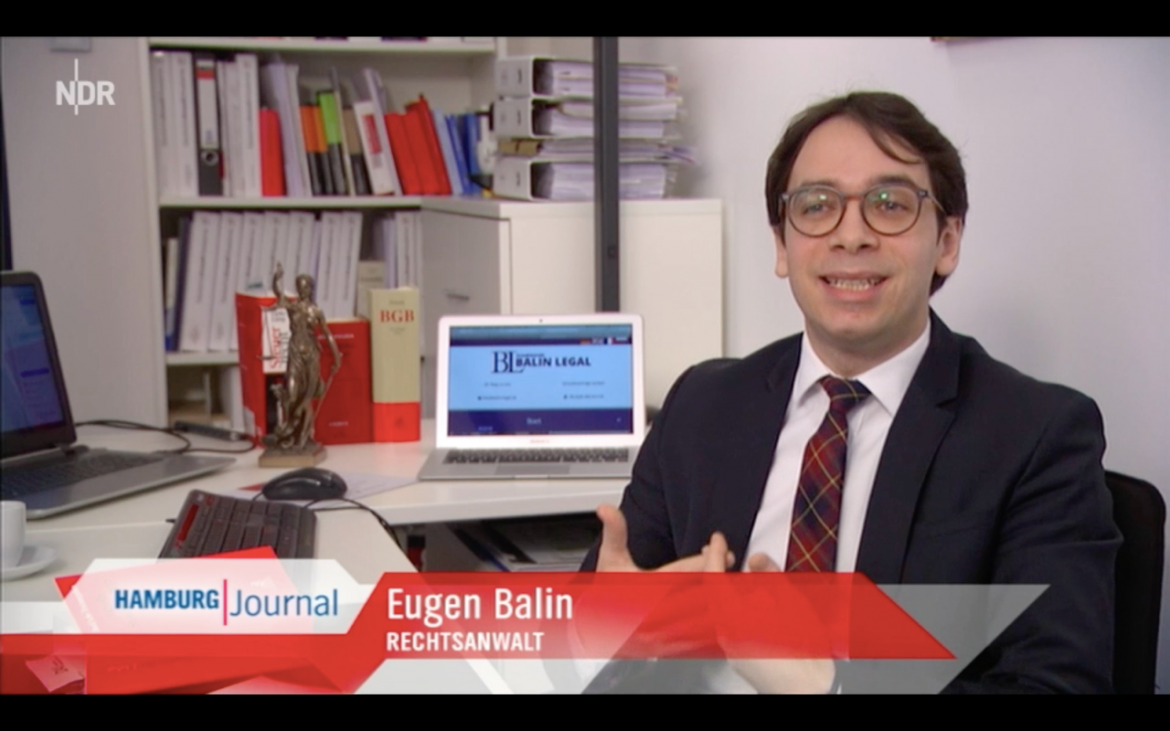 (4) BALIN LEGAL im NDR Hamburg Journal